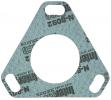 Flange gasket for diesel injection and fuelpumps