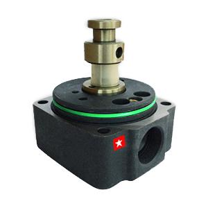 Hydraulic distribution heads for diesel injection fuel pumps. The rotorhead is located in the governor of the fuel pump