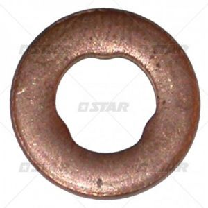 1987972086 copper washers for Common-Rail Injector Mercedes 15x7,3x1,5mm 52378