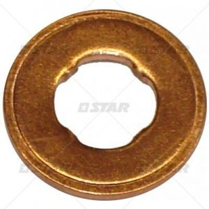 580172007 F00RJ01086 copper washer for Common-Rail DAF 15x7,3x1,5mm