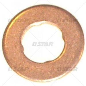copper washer for Common-Rail 15x7,3x1,5mm Mercedes F00VC17503